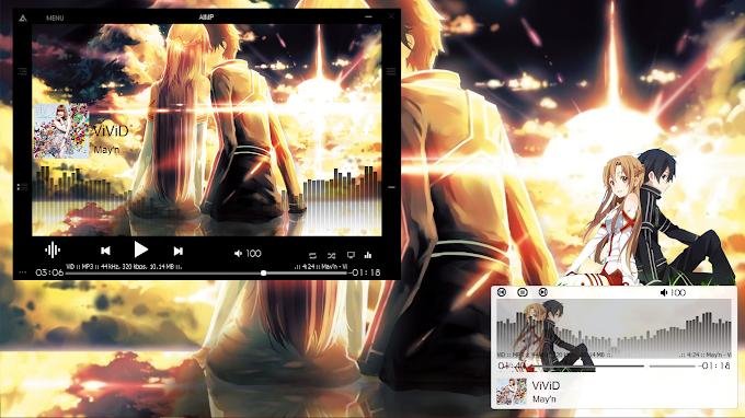 [DTH Final] AIMP4 Skin Kirito X Asuna