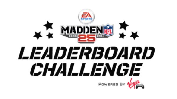 Virgin Gaming Announces Madden NFL 25 Daily Leaderboards
