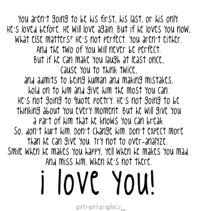 True Love Quotes: I Love You Quotes And Poems For Him
