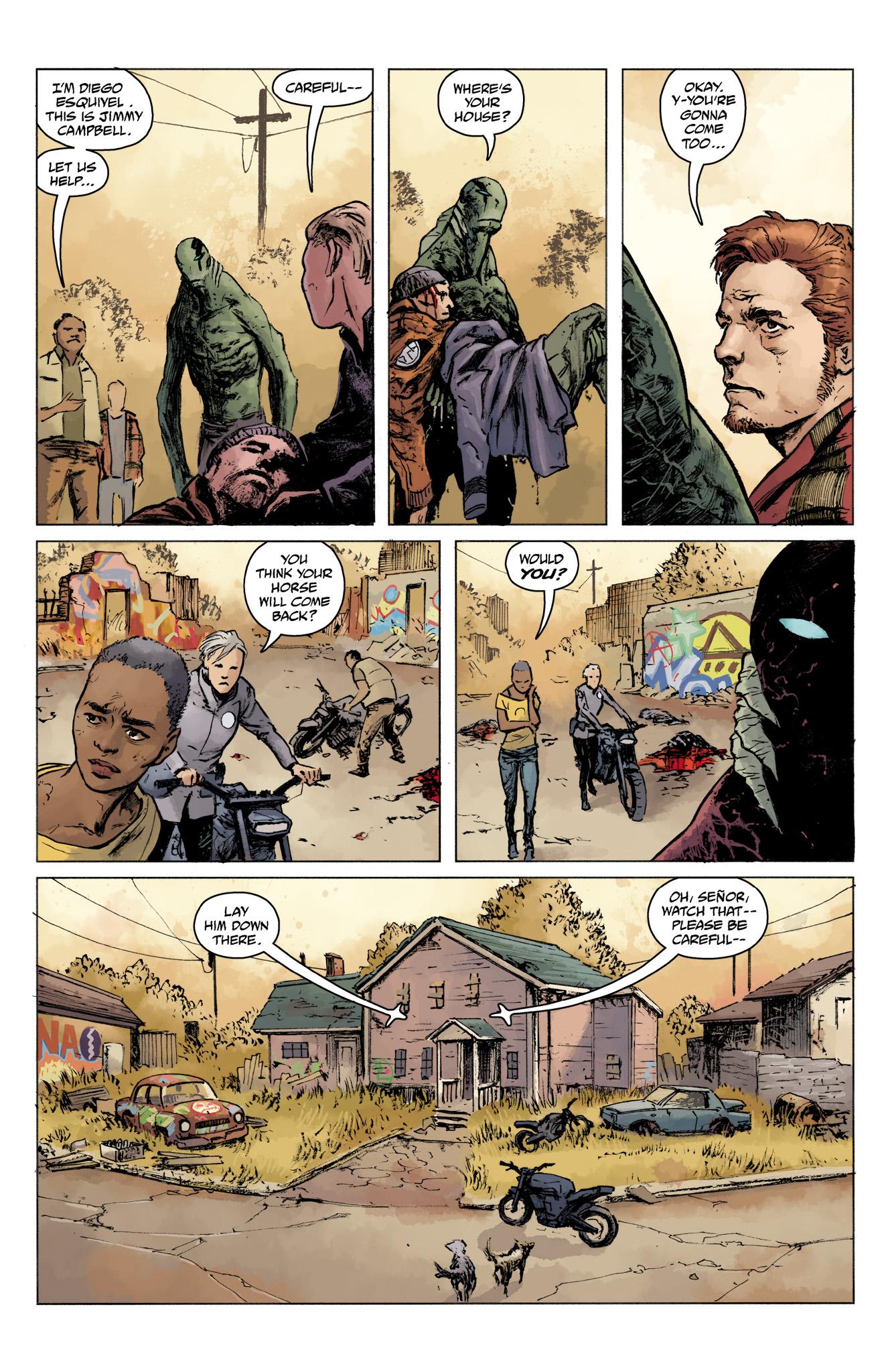Read online Abe Sapien comic -  Issue #16 - 17
