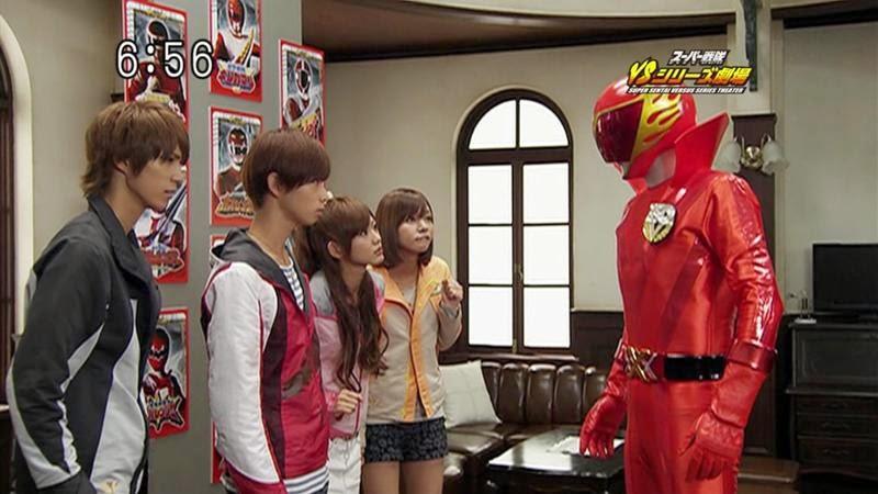 Siêu Nhân Tổng Hợp - Super Sentai Versus Series Theater Vietsub (2009)