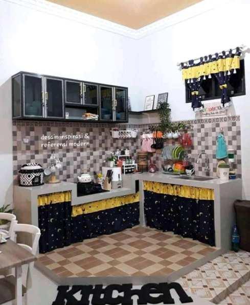dapur rumah minimalis desain terbaru