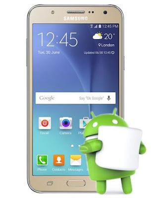 Samsung Galaxy J7 SM-J700F 6.0.1 Marshmallow Update Firmware