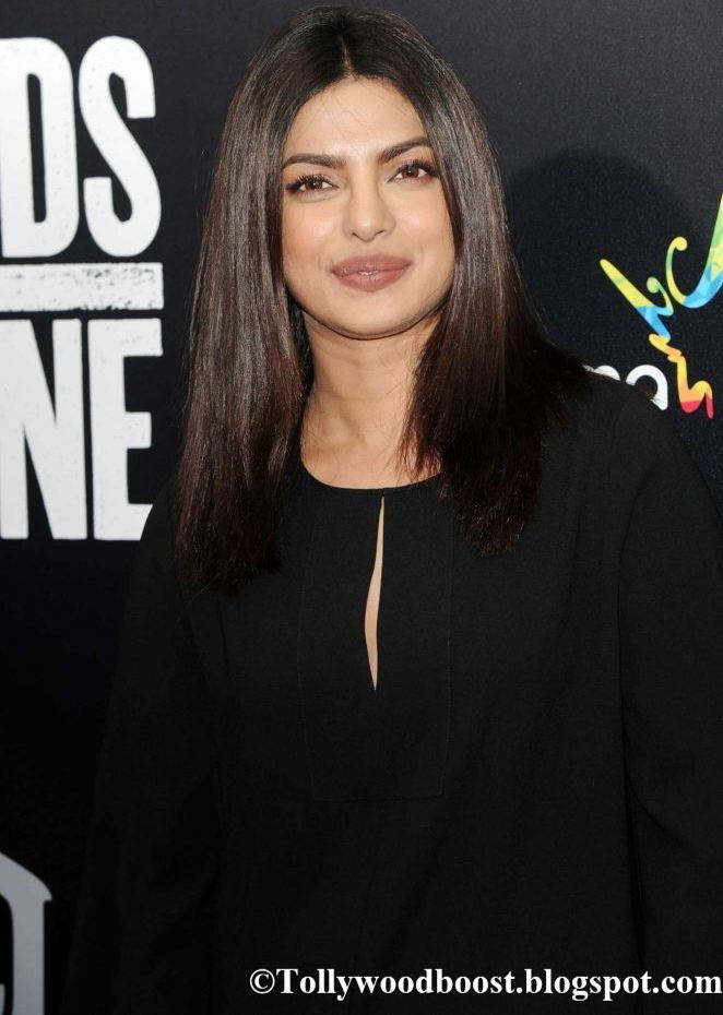 Priyanka Chopra Hands of Stone NY Premiere In Hot Black Dress