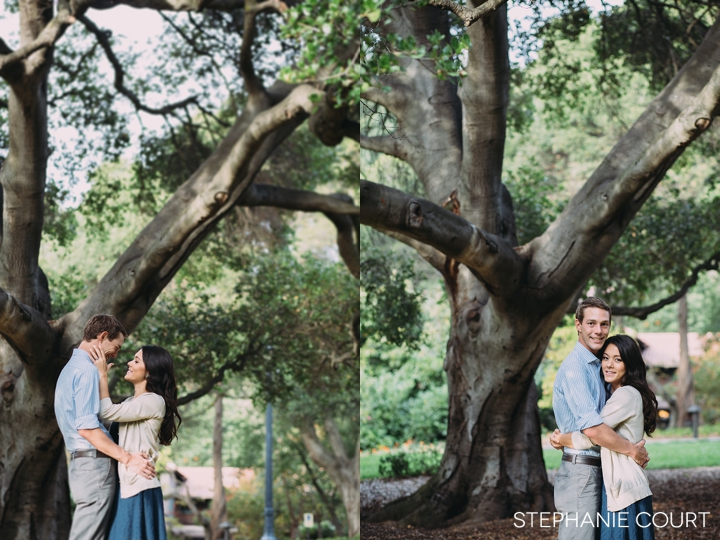 engagement photos at uc berkeley