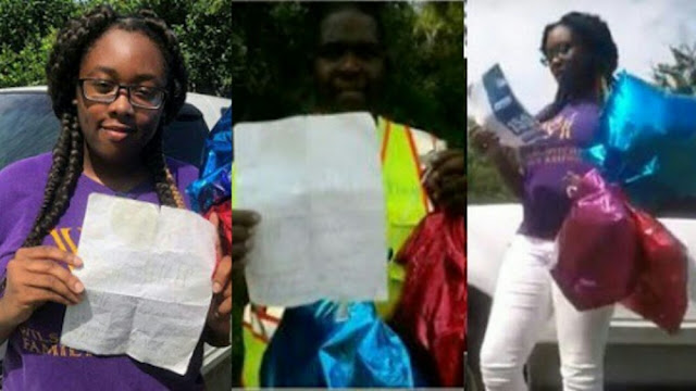 Photos: Teenager asks God for help in paying for college in a note tied to balloons, a minister found it and answered her prayer