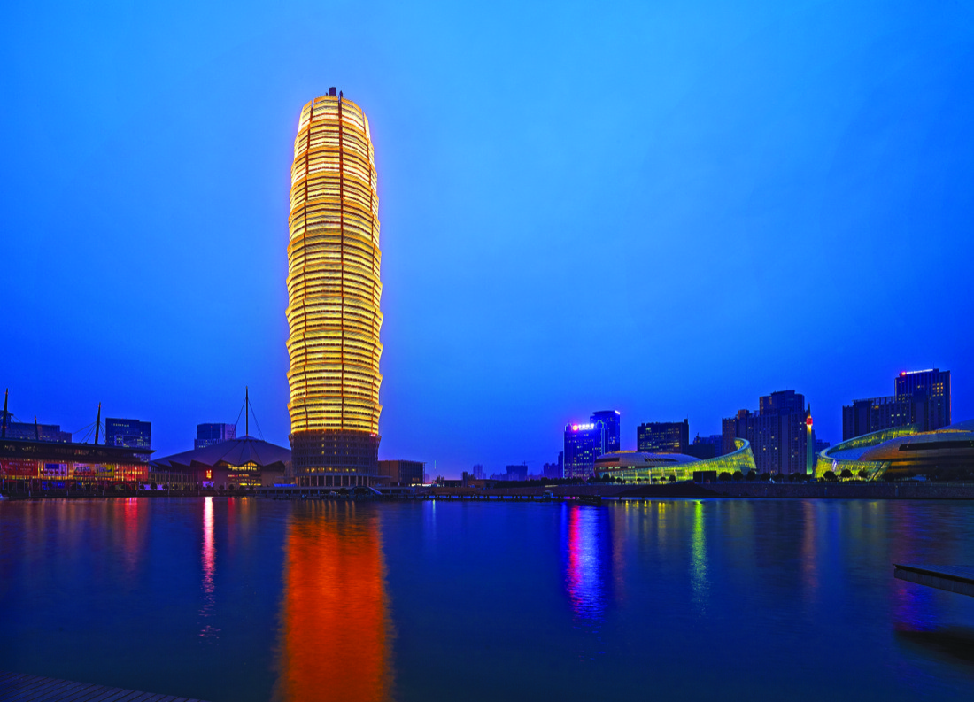 Interior Design For New Home Asiantowers Zhengzhou Greenland Plaza The Modern Pagoda