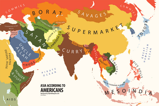 Living Rootless Another Geography Lesson Americans Map Of The World