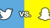 Snapchat vs Twitter: chi vince la sfida?
