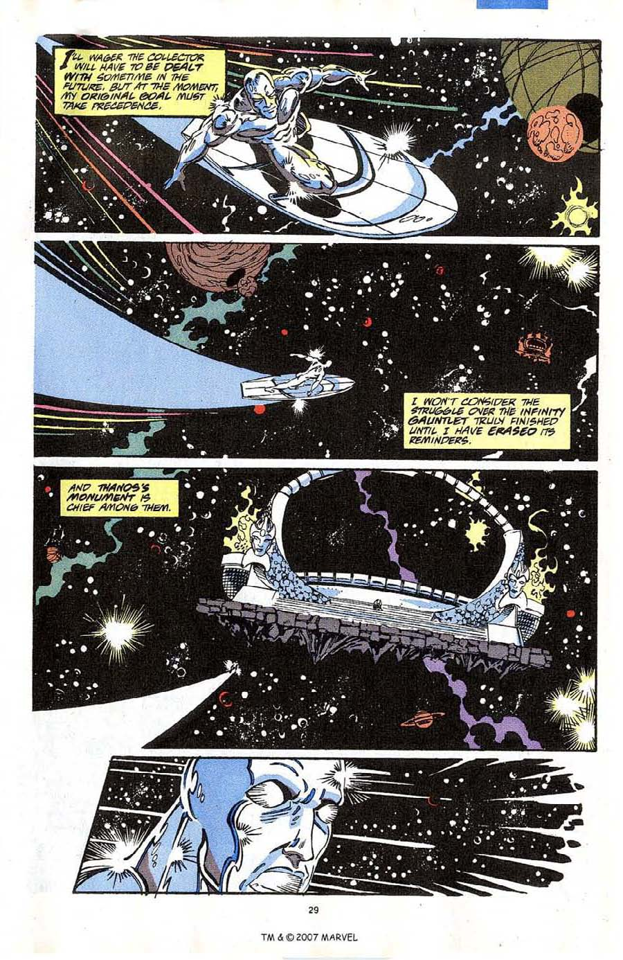 Read online Silver Surfer (1987) comic -  Issue #64 - 31