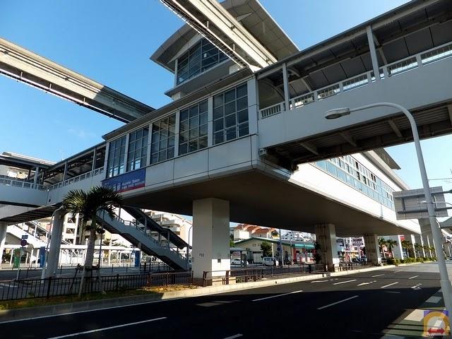 Okinawa Bus Stop Map: 赤嶺駅 (AKAMINE Station)