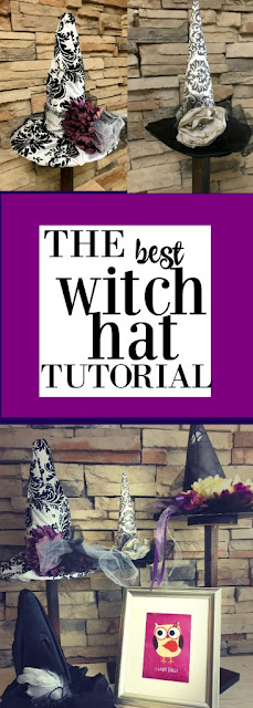 halloween witch hat tutorial