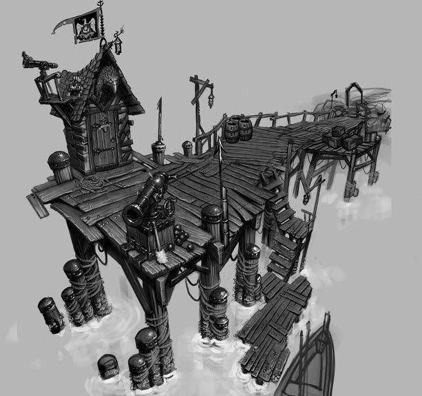 Ethan Clements: Major Project... Pirate Town Idea