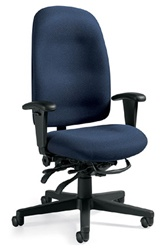 Global Granada High Back Chair at OfficeAnything.com