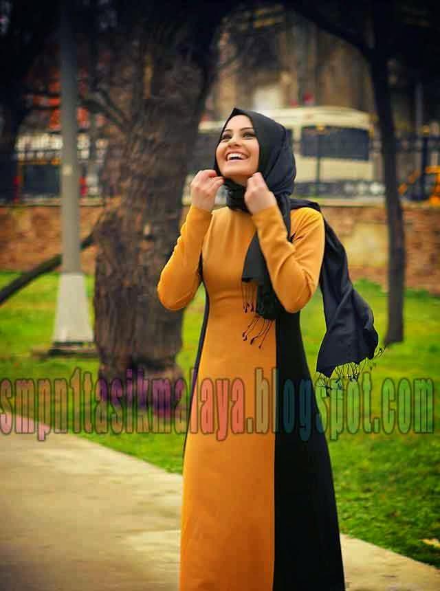 Trend Model Baju Beserta Kerudung Muslim Terbaru 2017