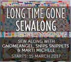 Long Time Gone Sew Along with Gnome Angel