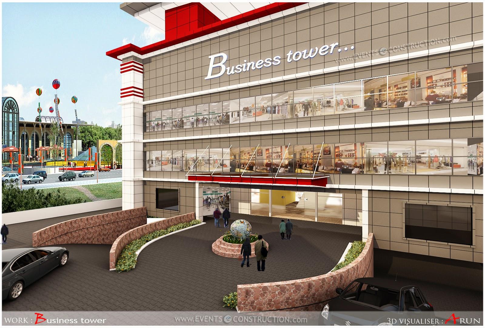 Evens Construction Pvt Ltd: Commercial building design
