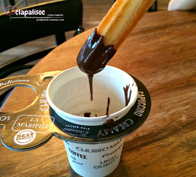 Classic Churros with Chocolate Dip from La Maripili Churreria