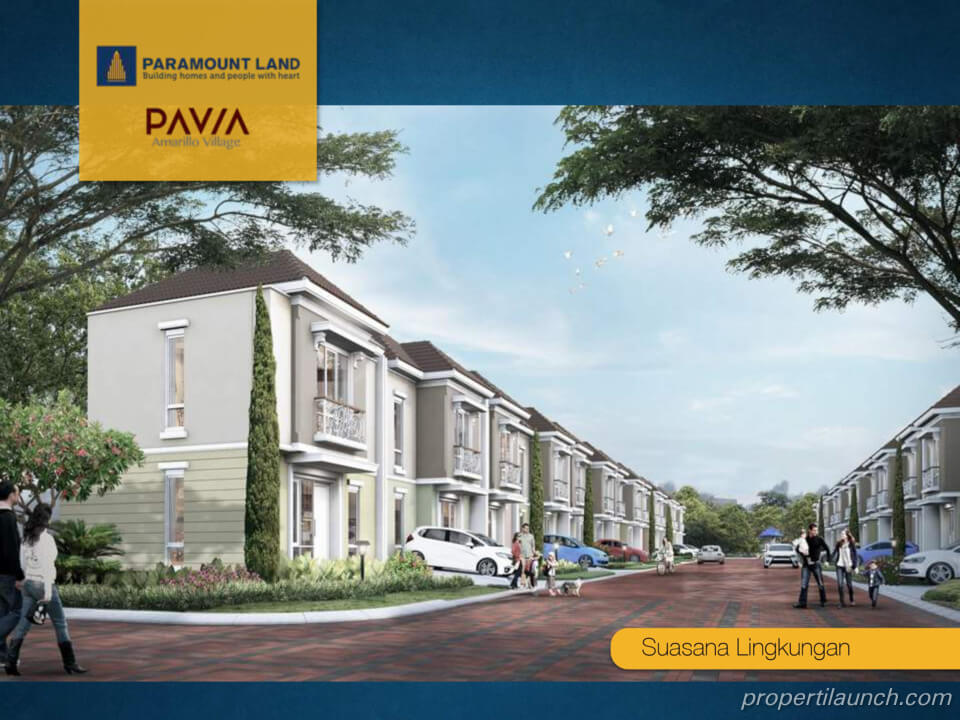 Rumah Pavia Amarillo Village Gading Serpong