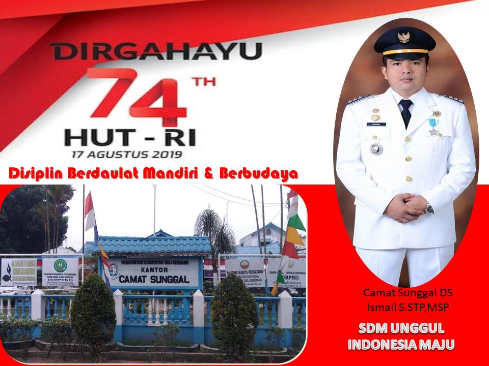 HUT RI 74 CAMAT SGL DS