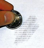 Coin Ink Etiketten