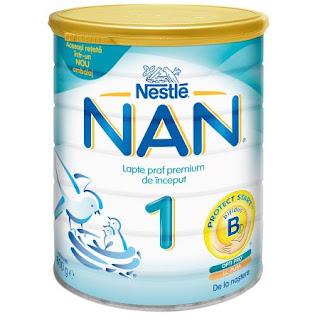 Jurnal de mamica - Laptele praf ( Nan 1 )