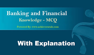 Banking & Financial Awareness Quiz - Set 31