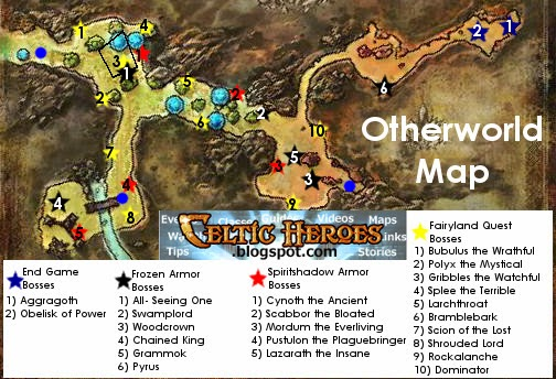 Frozen Armor Quest Guide - Celtic Heroes Tavern