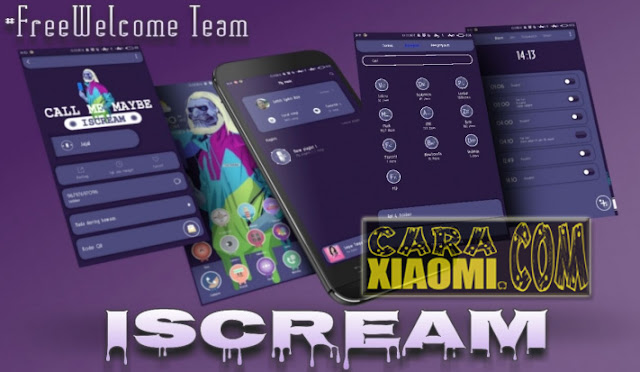 Tema MIUI ISCREAM Mtz Update Version v2.0 For Xiaomi by Freewelcome Team