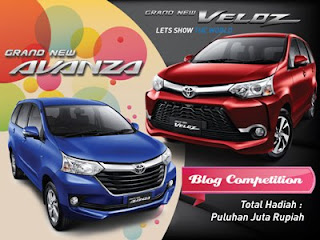 Avanza Veloz Blog Competition 2015