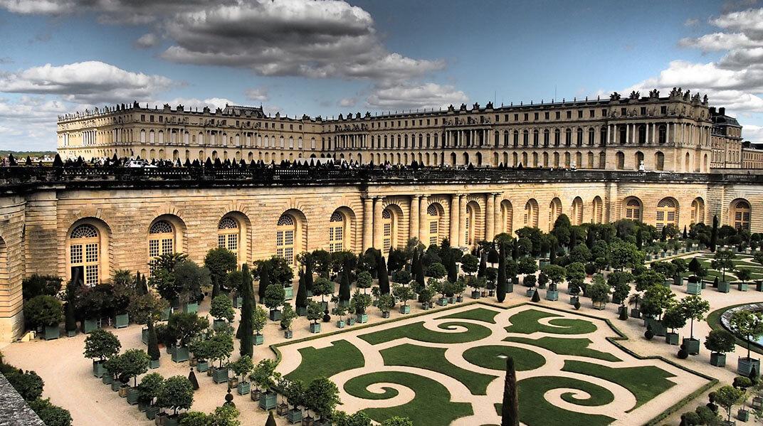 Palacios cerca de París Palacio de Versalles