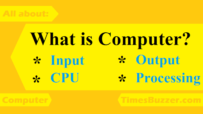 What is Computer? General Information