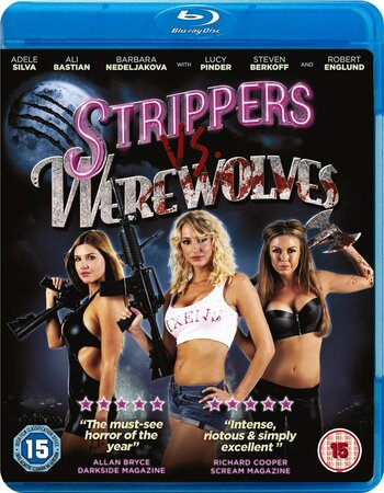 Strippers Vs Werewolves (2012) Dual Audio Hindi 300MB BluRay 480p