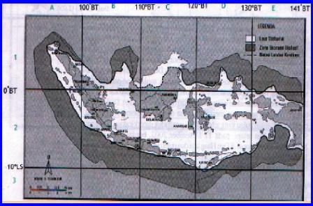 peta wilayah laut indonesia