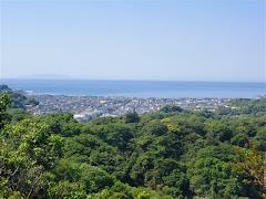 建長寺裏山の景色