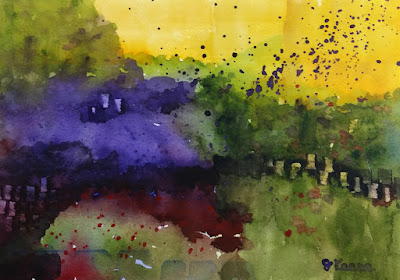 Watercolor Abstract - JKeese
