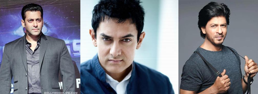 sas Selfie attack: Aamir Khan and Shah Rukh Khan clicks their 1st selfie ever!