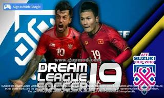 DLS 18 v5.064 Mod AFF Cup 2018 Apk Obb