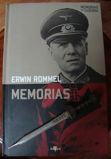 Portada del libro Memorias, de Erwin Rommel