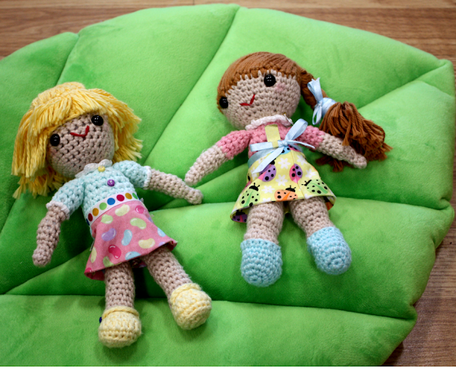 Spirit of Crochet handcrafted dolls