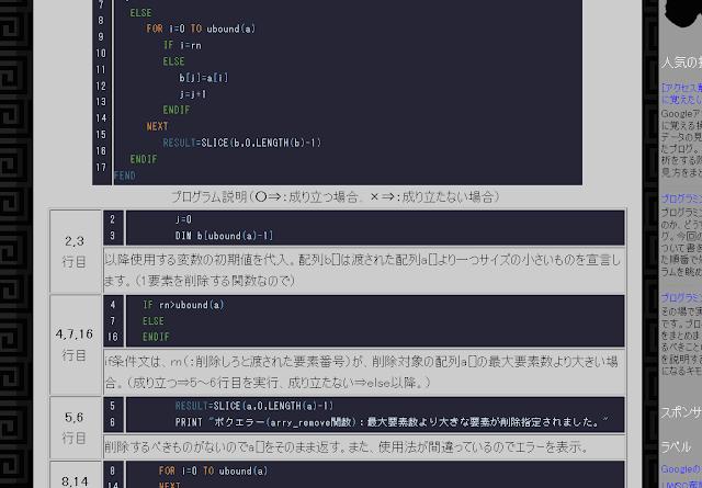 自動生成されたHTMLでの実際の画像