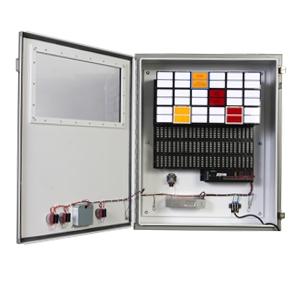 industrial control alarm annunciator panel
