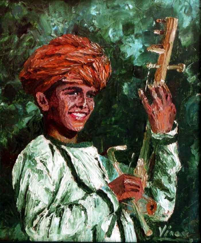 Индийский художник. Vinay Babar
