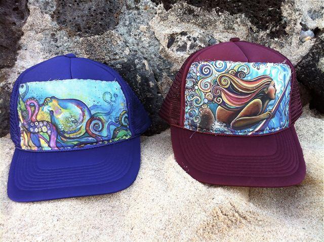293d59dd2 New Aloha Trucker Hats! And Sale! | Colleen Wilcox Art
