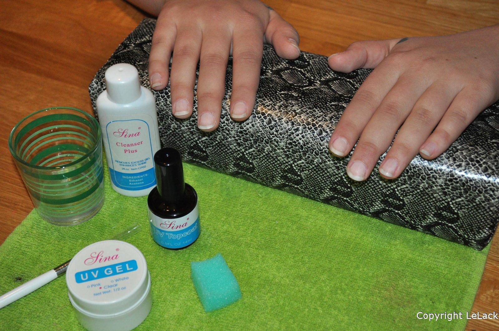 hur kan man få långa naglar snabbt