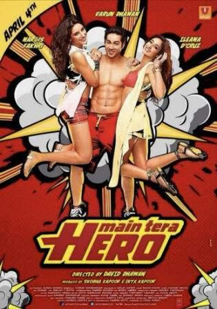 Main Tera Hero 2014 BluRay 350MB Hindi Movie 480p