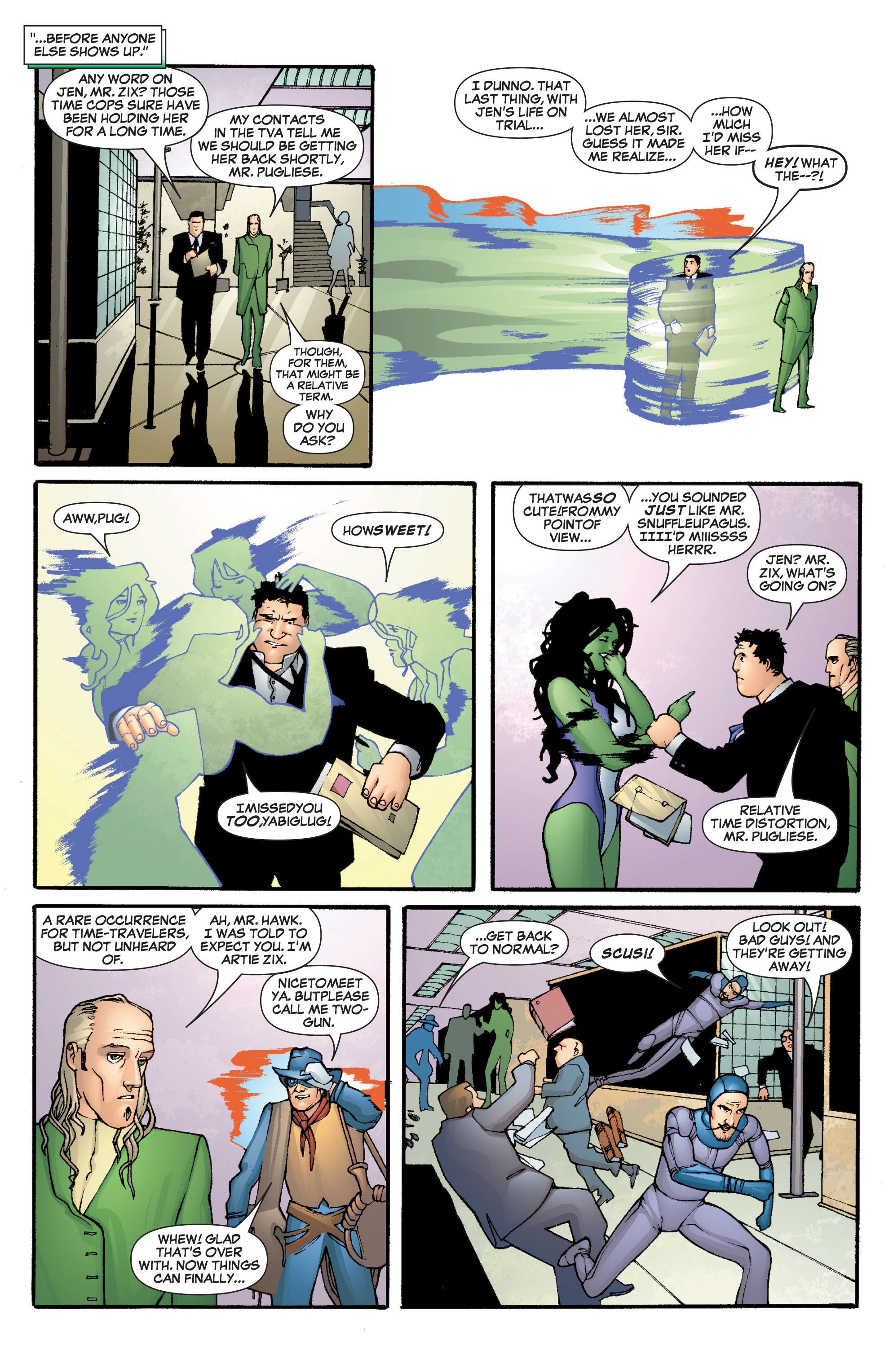 Read online She-Hulk (2005) comic -  Issue #5 - 8