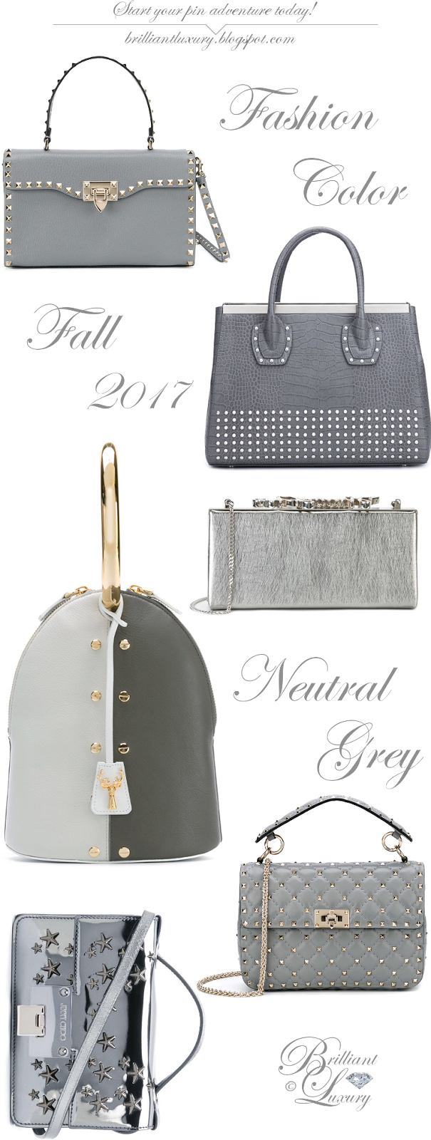 Brilliant Luxury ♦ Fashion Color Fall 2017 ~ neutral grey ~ Part II