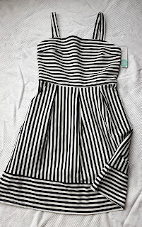 c82b7d71677 ... Brixon Ivy Levi Ponte Dress. Being that I just received a skirt in the  exact same stripe pattern last month