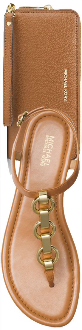 MICHAEL MICHAEL KORS Mahari Leather Thong